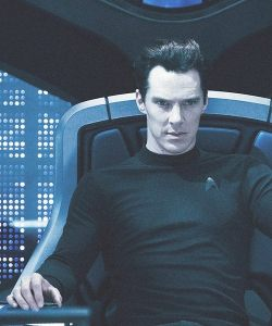 Khan in 'Star Trek Into Darkness'