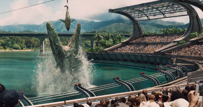 Jurassic World's Dinosaur Hybrid