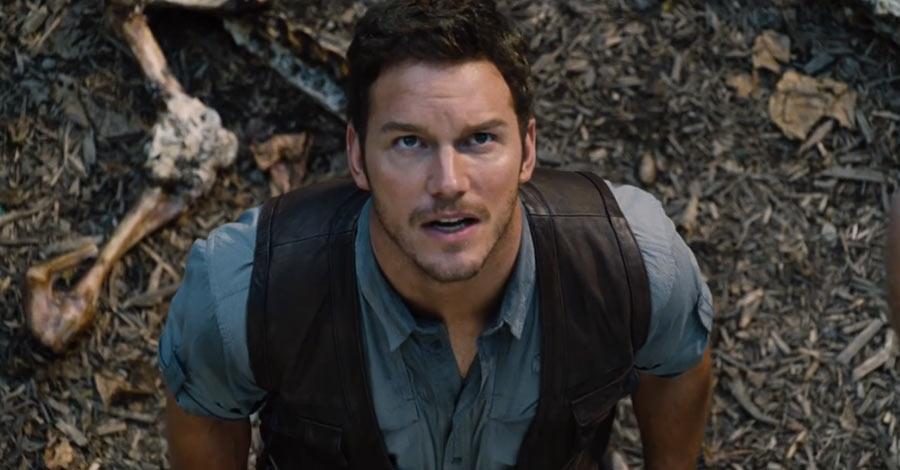 Chris Pratt in 'Jurassic World'
