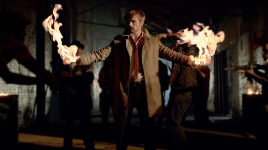 Constantine Flame On!