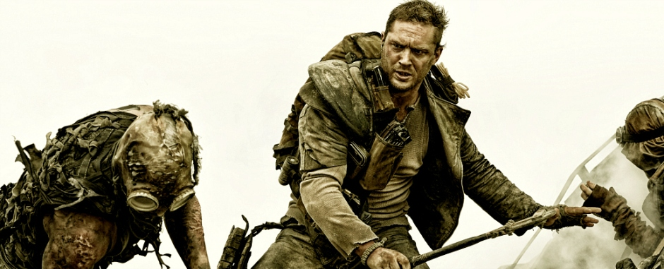 Tom Hardy as Max in 'Fury Road'