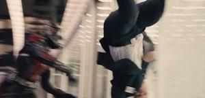 Ant-Man beats up Darren Cross