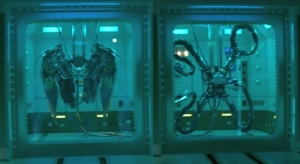 Why is Oscorp developing suits based on different animals?