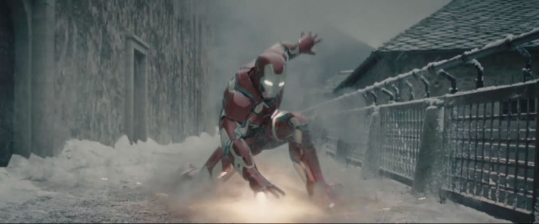 Iron Man lands