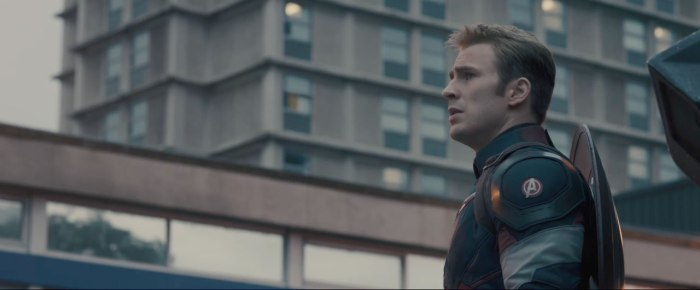 Captain America in 'Age of Ultron'