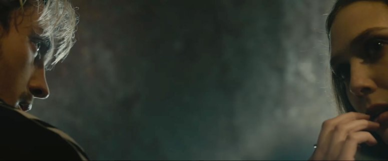 Really, the only shot of Quicksilver.