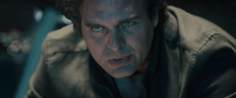 Bruce Banner about to Hulk out.