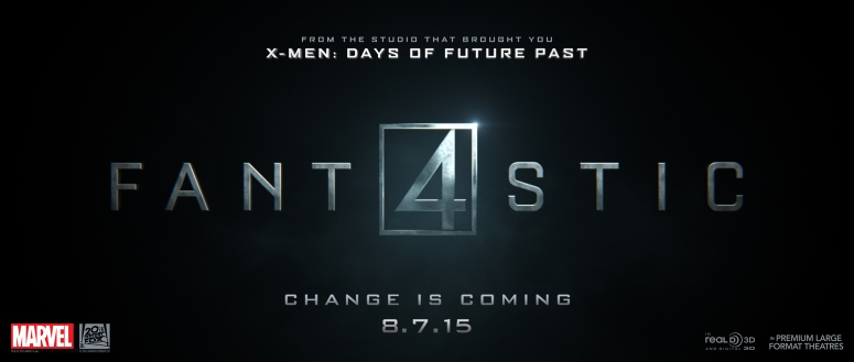 Why in the world is Fox's calling it 'FANT4ASTIC?' Did they learn nothing from 'TAK3N?'