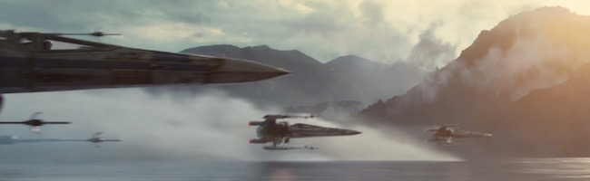 X-Wings in Force Awakens