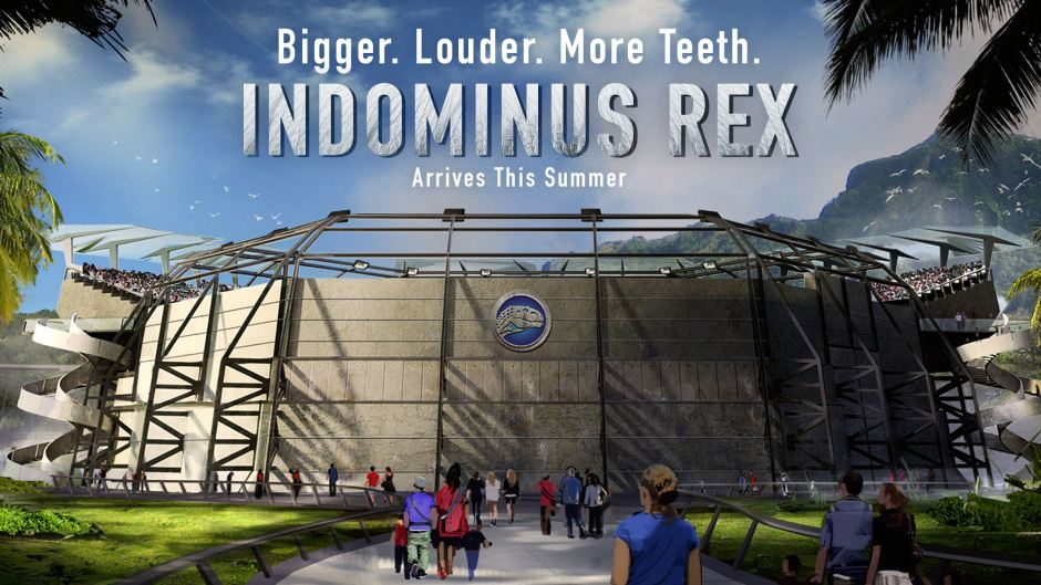 Indominus Rex 'Jurassic World' Fake Marketing