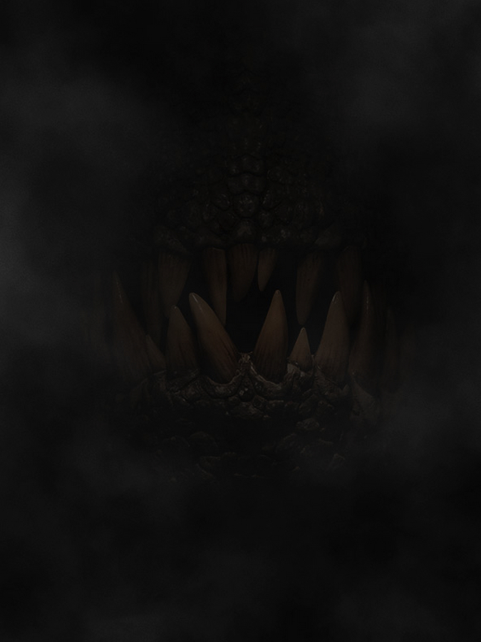 The official look at Indominus Rex.  See, barely a real look. No spoilers!