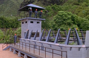 The Raptor Pen in 'Jurassic Park'