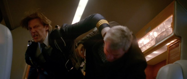 Richard Parker fights for his life against an agent of Oscorp.