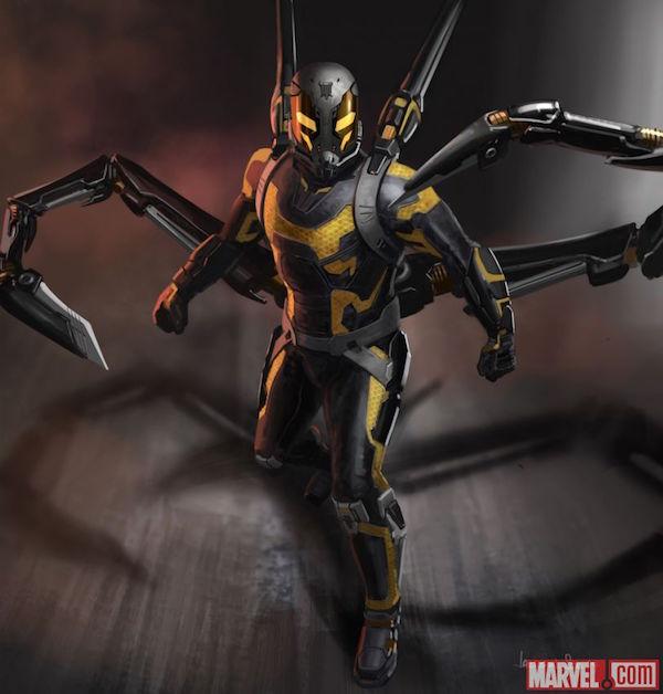 Yellowjacket in 'Ant-Man'
