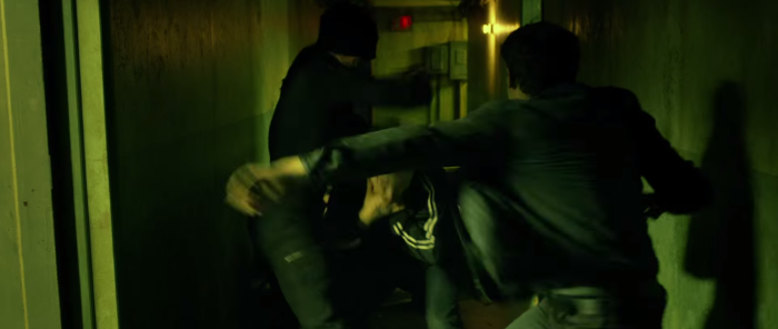 Daredevil Fights in Hall Netflix