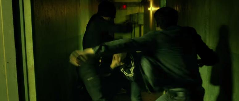 Daredevil Fights in Hall Netflix
