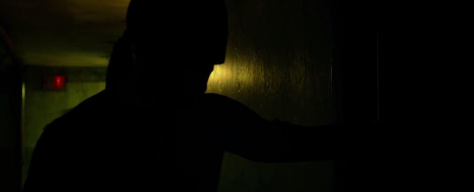Daredevil can hear through walls!