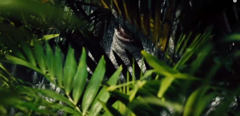 The cold stare of Indominus Rex
