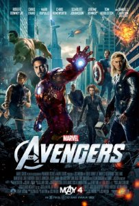 Poster for 2012's 'The Avengers'