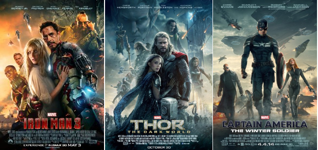 Avengers Phase 2 Posters