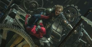 Spider-Man vs. green Goblin in 'Amazing Spider-Man 2'
