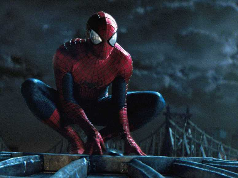 Amazing Spider-Man 2 Crouch