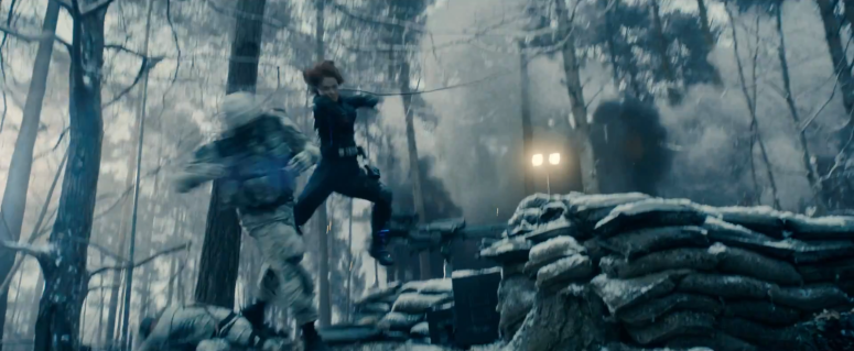 Age of Ultron TV Spot 3 Black Widow