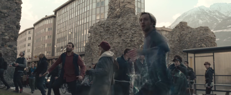 Avengers Age of Ultron Quicksilver Running Effect