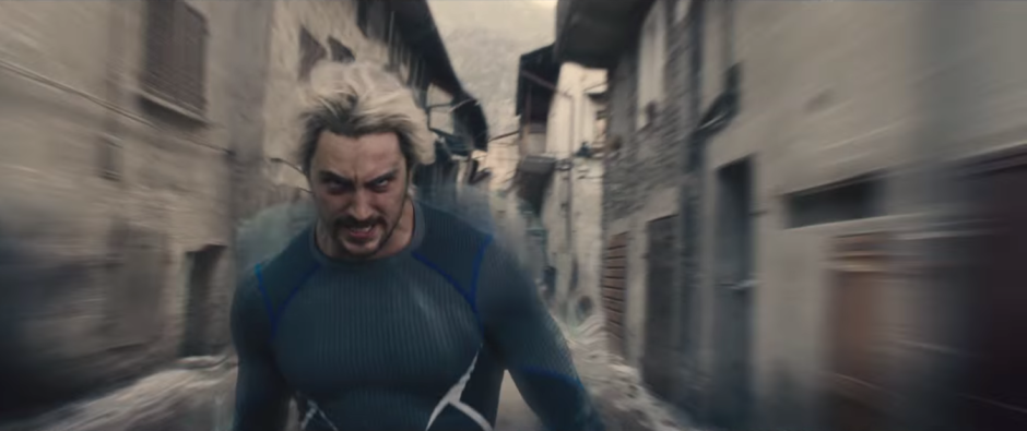 Avengers Age of Ultron Quicksilver Runs
