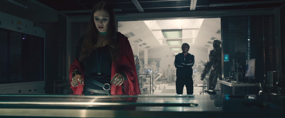 Avengers Age of Ultron scarlet witch and quicksilver plan