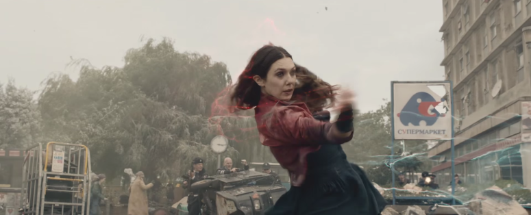 Avengers Age of Ultron Scarlet Witch Magic Casting Finish