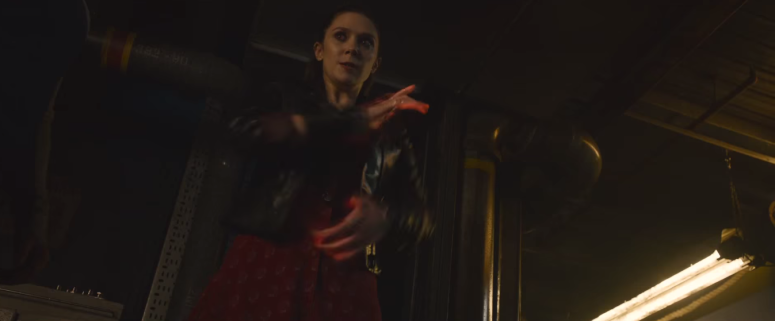 Avengers Age of Ultron Scarlet Witch Magic