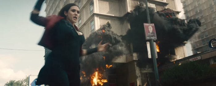 Avengers Age of Ultron Scarlet Witch Powers