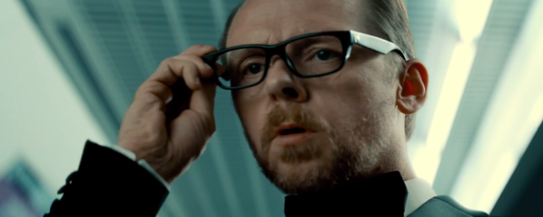 Benji Spy Glasses Simon Pegg Mission: Impossible - Rogue Nation
