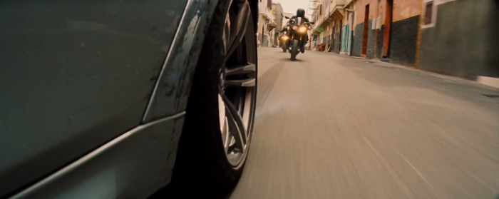 Bikes Chase Car - Mission: Impossible - Rogue Nation