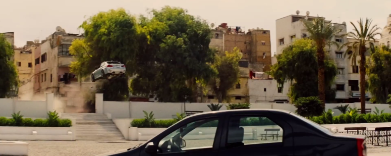 Car Jump Backwards Mission: Impossible - Rogue Nation