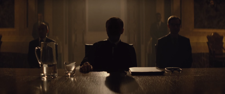Christoph Waltz SPECTRE Trailer Headquarters