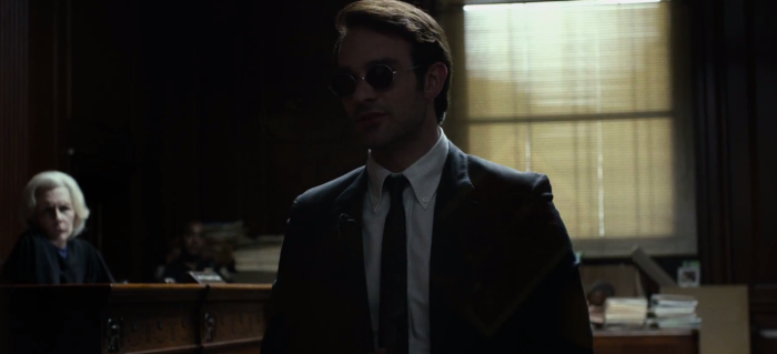 Matt Murdock in Court Netflix