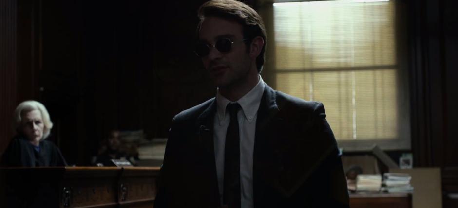 Matt Murdock in Court Netflix