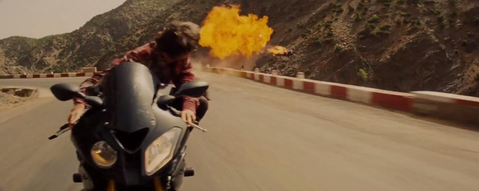 Bike Crash Mission: Impossible - Rogue Agent