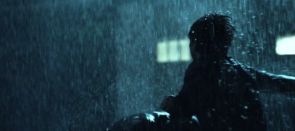 Daredevil Fights In The Rain on Netflix