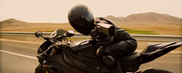 Biker with Gun Mission: Impossible - Rogue Nation