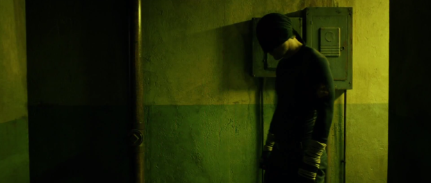 Daredevil in the Hall on Netflix
