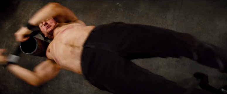 Tom Cruise Ethan Hunt Flip Mission: Impossible - Rogue Nation