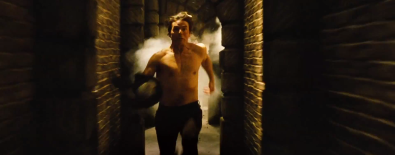 Tom Cruise Ethan Hunt Runs in Sewer Mission: Impossible - Rogue Nation
