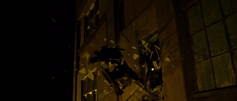 Daredevil Jumps Through A Window on Netflix