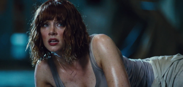 Jurassic World TV Spot Bryce Dallas Howard in Peril