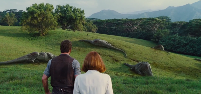 Jurassic World TV Spot Field of Dead Dinosaurs