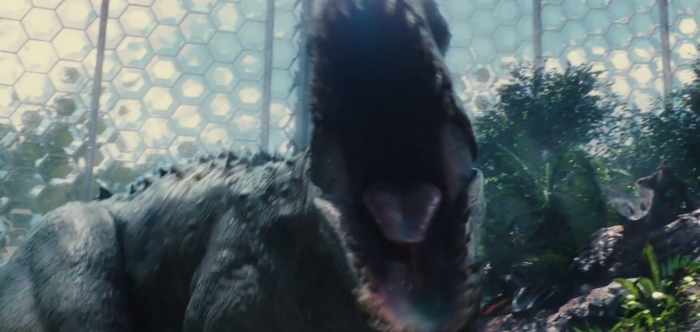Jurassic World TV Spot Jaws of Indominus Rex