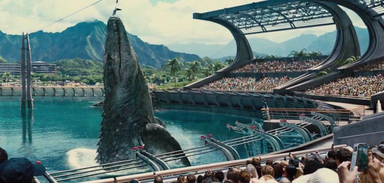 Jurassic World TV Spot Shark Diner